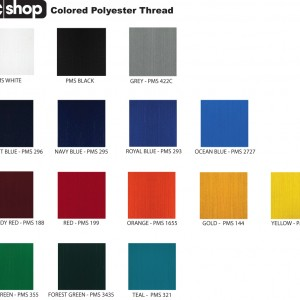 Polyester Thread Colors